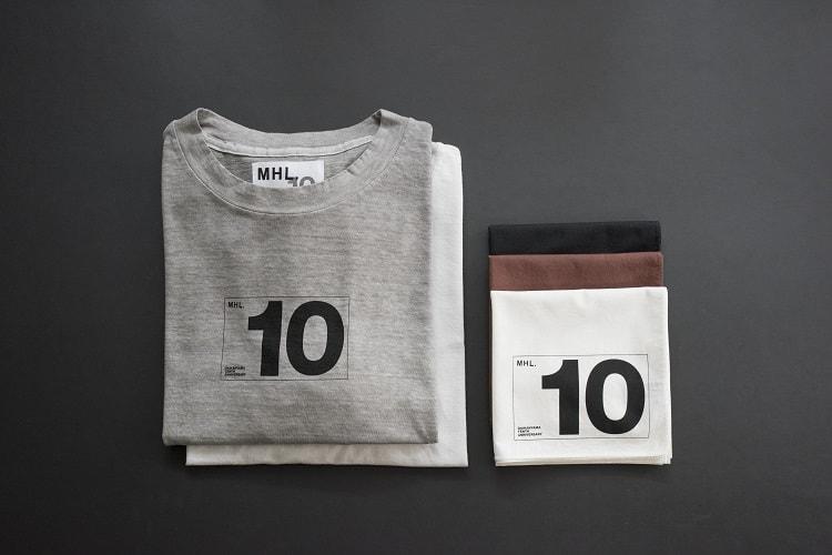 〈MHL〉代官山オープン10周年を記念した限定アイテム登場!
