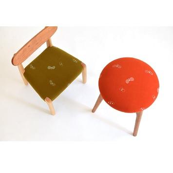 京都の家具店〈エンストル〉ミナ ペルホネンのインテリア用ファブリック「dop choucho」の取り扱いをスタート!