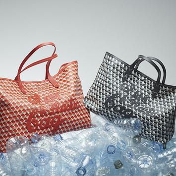 〈アニヤ・ハインドマーチ〉から新世代のサスティナバッグ『I AM A Plastic Bag』登場