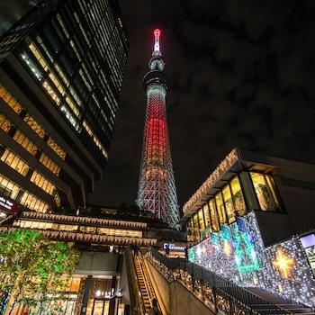 都会のクリスマスどう過ごす? 東京スカイツリータウン(R)で光と音のイルミネーションを