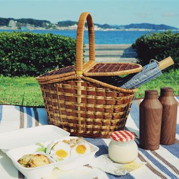 週末は家族で手ぶらピクニック! 鎌倉のセレクトショップがピクニックセットのレンタルを開始
