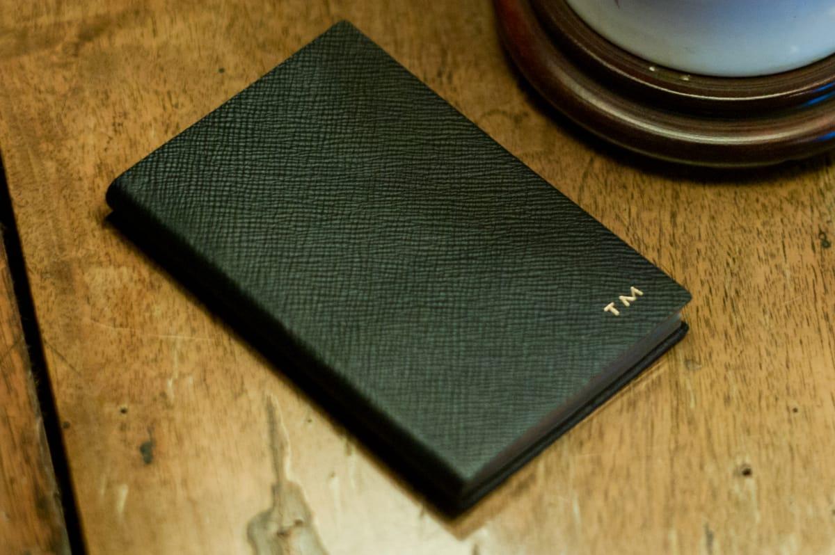 【Vol.5】〈SMYTHSON〉のノートブック