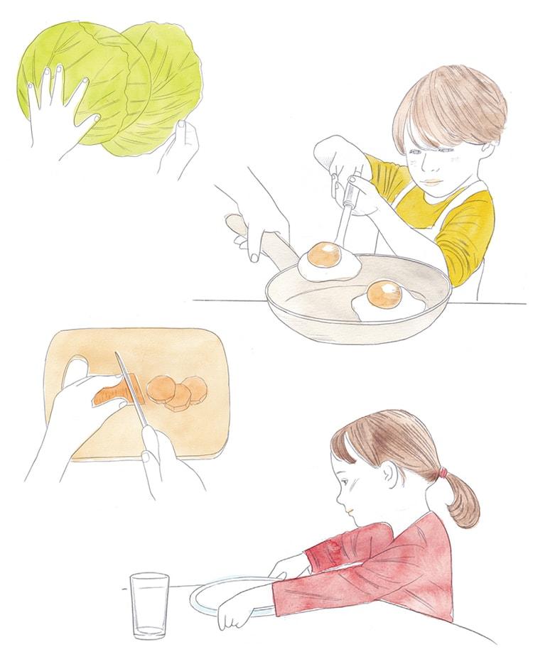子どもと一緒に料理をしてみよう ― 食べることをもっと好きになろう:第2回