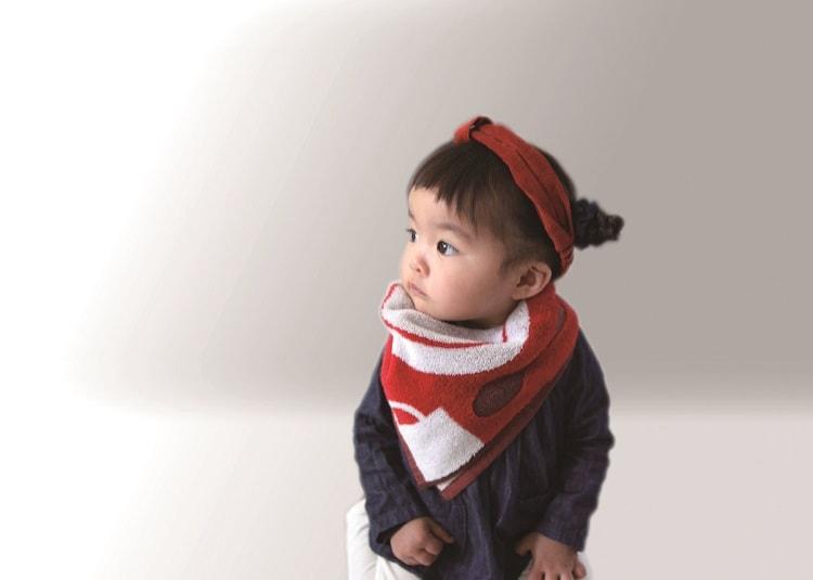 〈IKEUCHI ORAGNIC〉1枚で3役こなす! 親子タオル「Towelie Towelie」デビュー