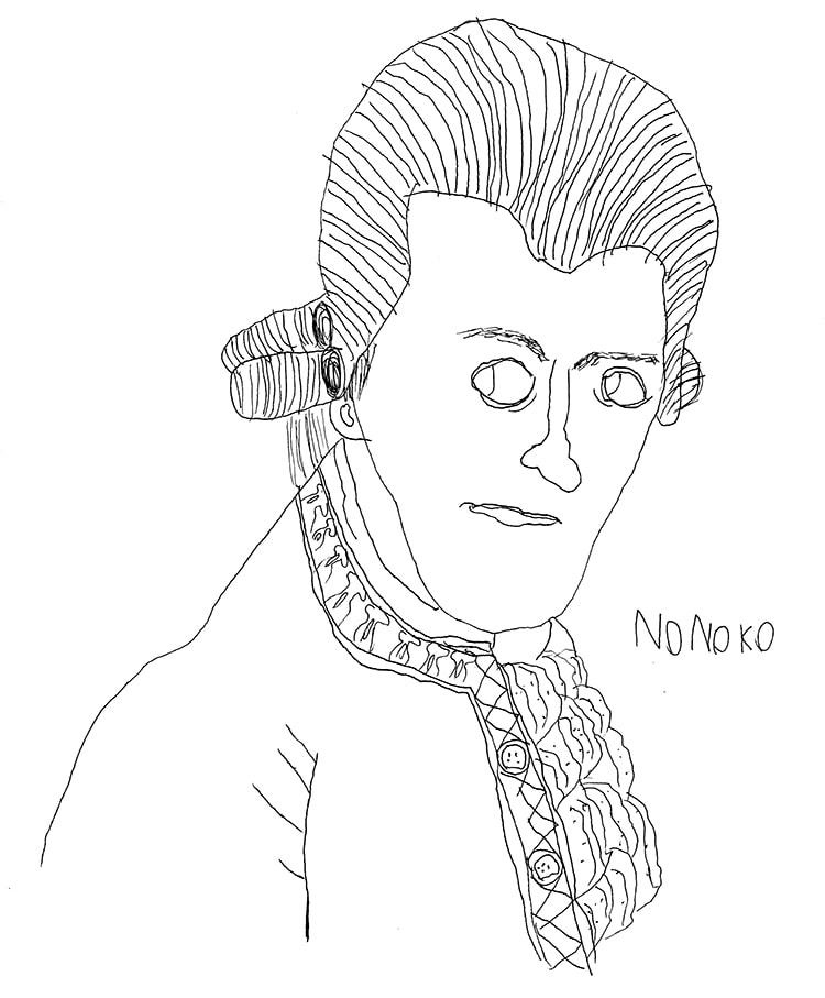 1月:音楽家『モーツァルト』