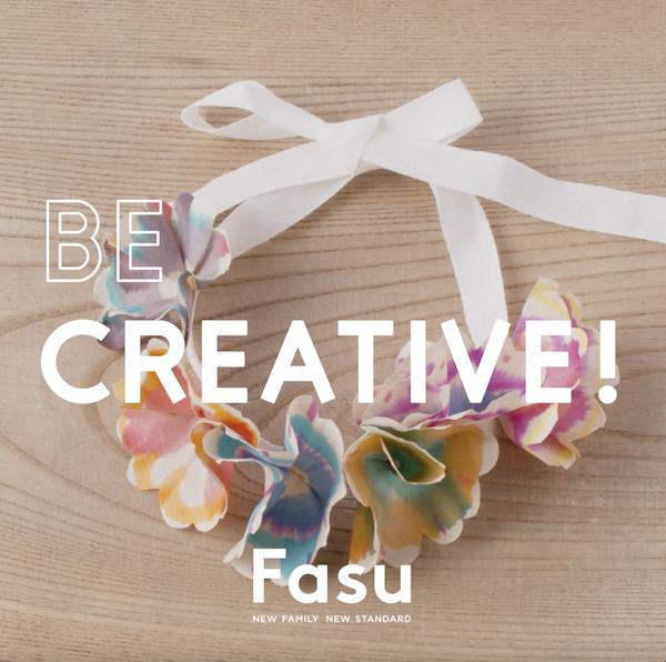 色の実験をしながら、キュートなフラワー・クラウン作りに挑戦!【Be Creative!】