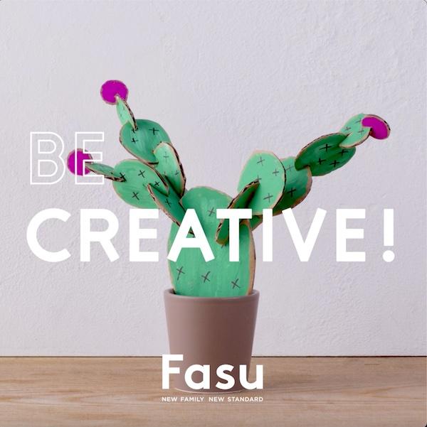 段ボールをアップサイクル! 部屋に飾っても可愛い、サボテンの立体パズル【Be Creative!】
