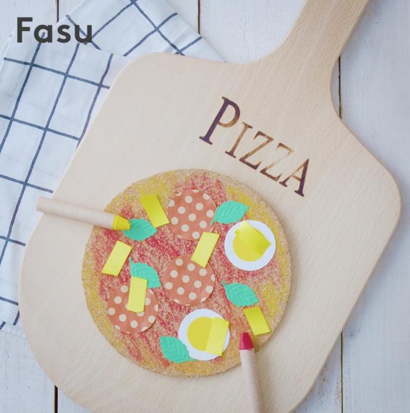 3歳からできるクリエイティブ体験。工作で簡単、かわいいピザを作ろう【Be Creative! 動画】