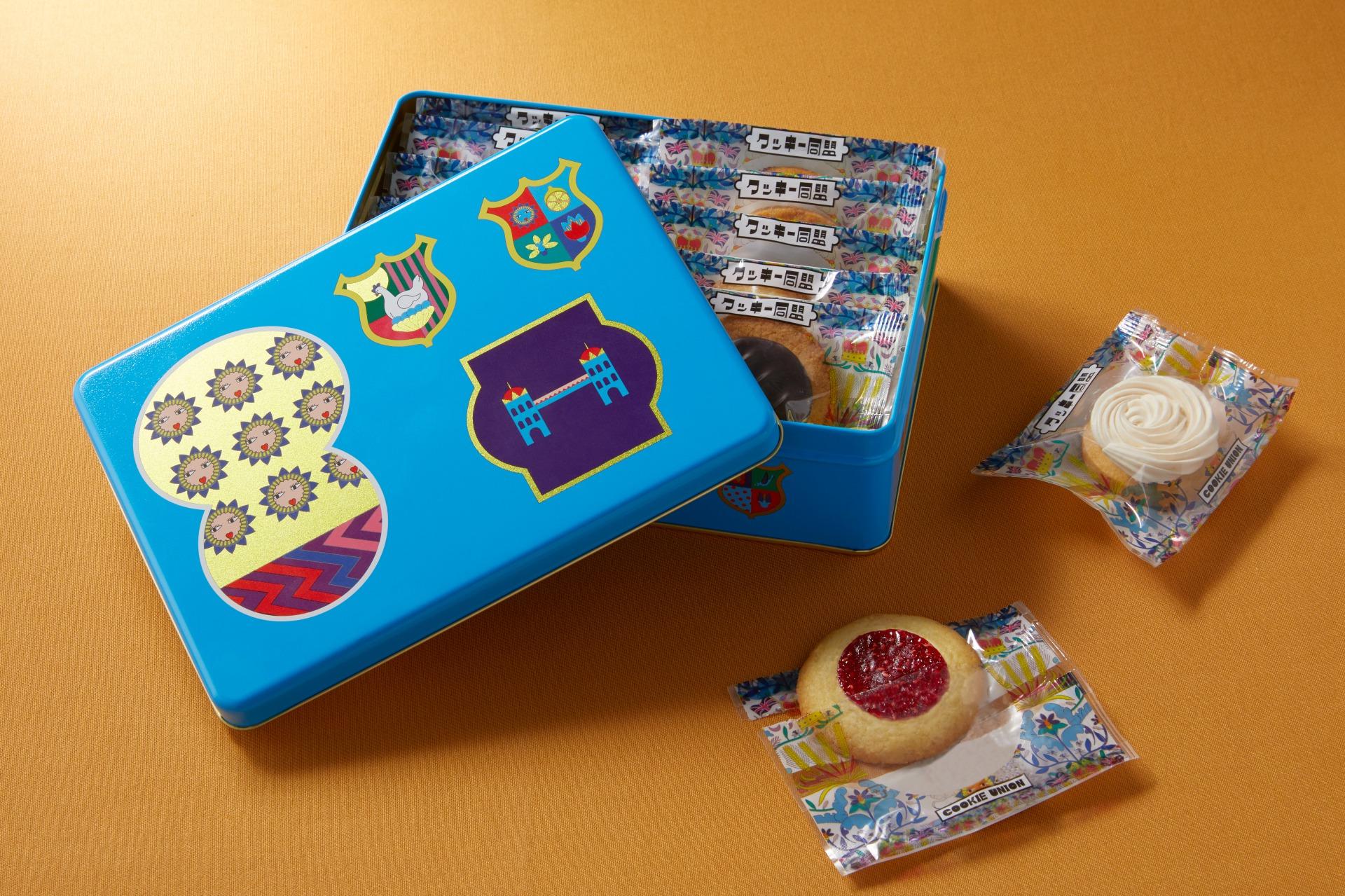 クッキー同盟「クッキー同盟アソート缶 15個入り」3,000円  【問い合わせ先】 ブロードエッジ・ファクトリー 公式サイト:http://www.cookieunion.jp/