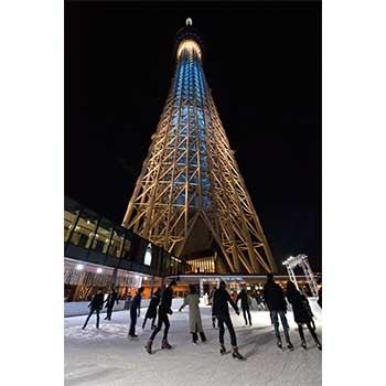 親子で楽しめる!「TOKYO SKY TREE TOWN(R) ICE SKATING PARK 2018」東京スカイツリータウン(R)で開催