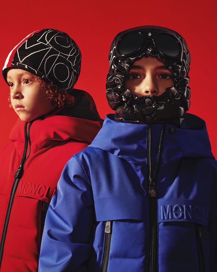 〈モンクレール グルノーブル アンファン〉子どものための究極のスキーウェア