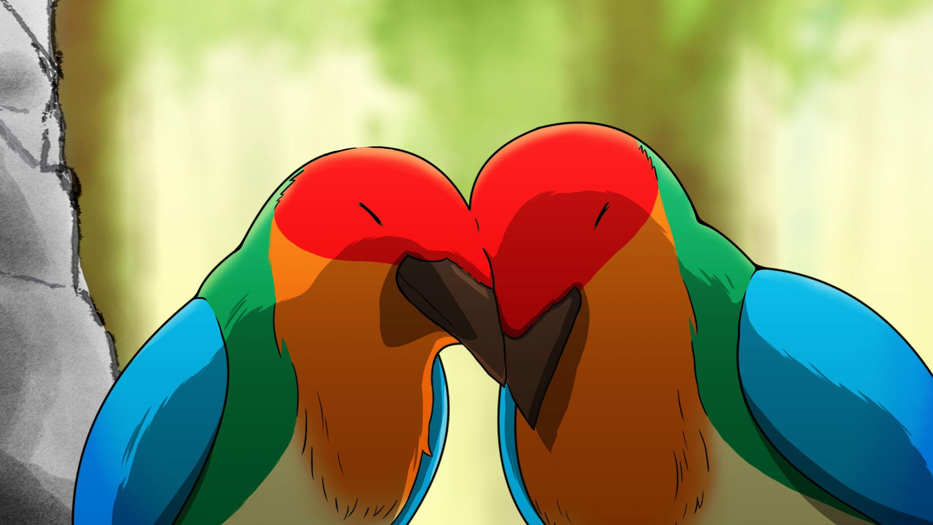 台湾の作家による作品『虹色のカラス』。美しい色彩と示唆に富むストーリー展開で大人も見入ってしまう内容。