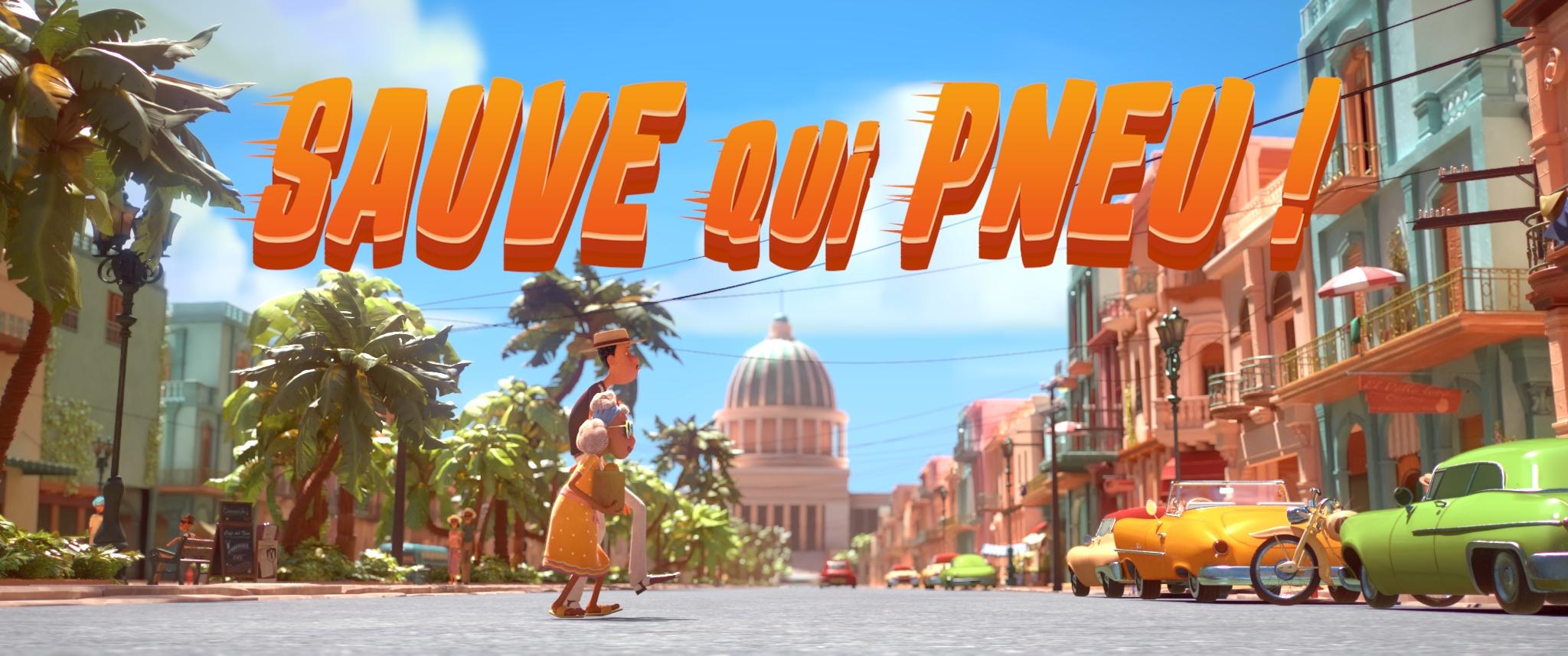 フランスのステューデントチームによるアニメーション『逃げろ!』。キューバを舞台にしたカラフルで楽しい作品。