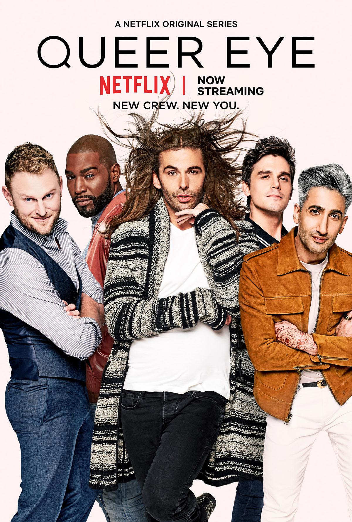 photo : Netflix Netflixオリジナルシリーズ「クィア・アイ」シーズン1〜5 Netflixにて独占配信中