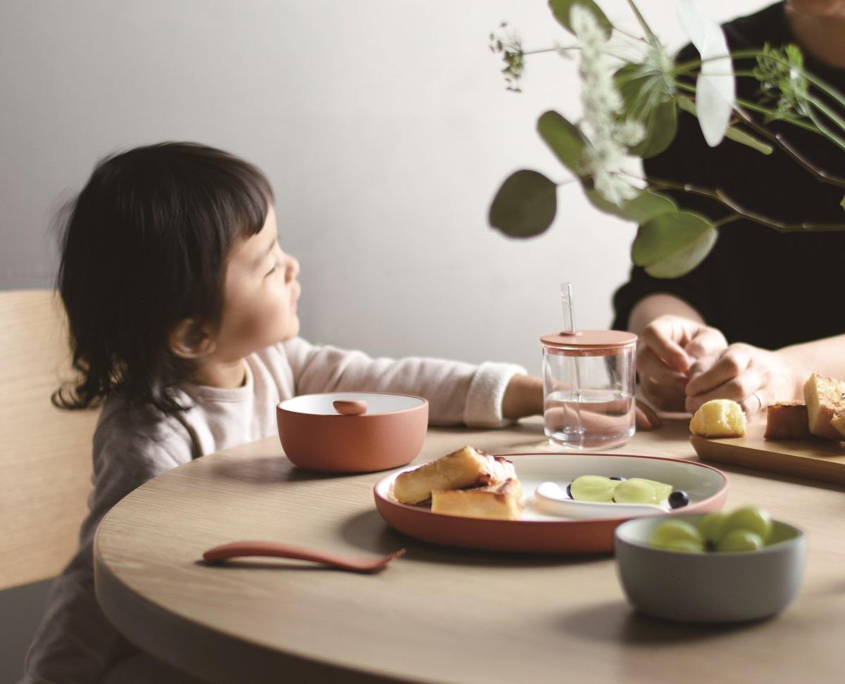 〈キントー〉ベビー&キッズ向けのテーブルウェア「ボンボ」を発売!