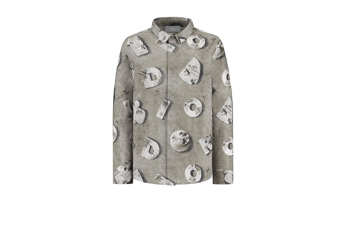 〈ベビー ディオール〉カプセルコレクション「長袖シャツ」