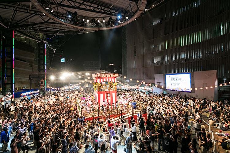 「六本木ヒルズ盆踊り2018」画像