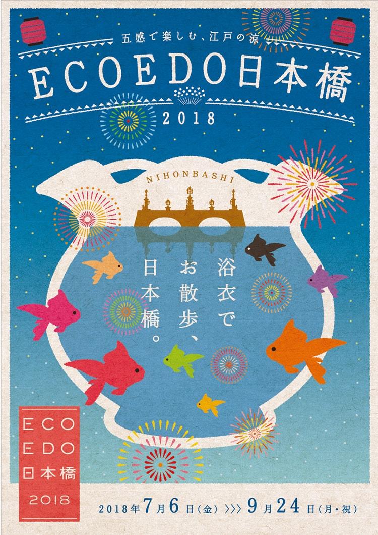 「ECO EDO 日本橋 2018 ~五感で楽しむ、江戸の涼~」画像