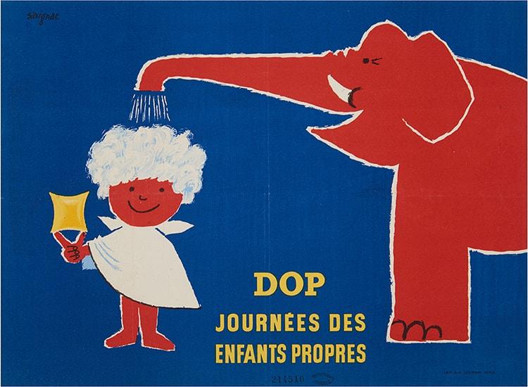 「サヴィニャック パリにかけたポスターの魔法」画像