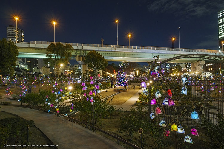 「OSAKA光のルネサンス2018」画像
