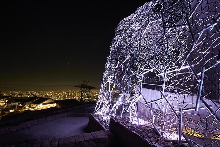 「六甲山光のアートLightscape in Rokko」画像