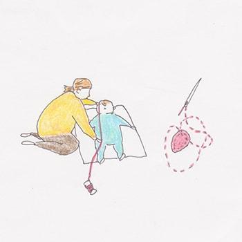 「ぬいぬいワークショップ 子どもの成長を記憶する作品づくり」水戸芸術館現代美術ギャラリーで開催