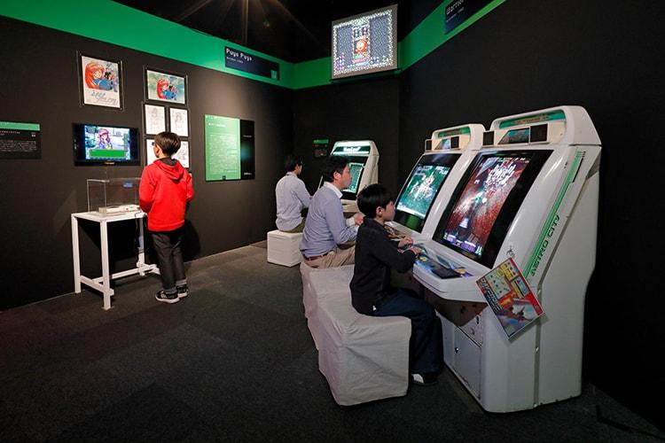 「あそぶ!ゲーム展ステージ3:デジタルゲームミレニアム」画像