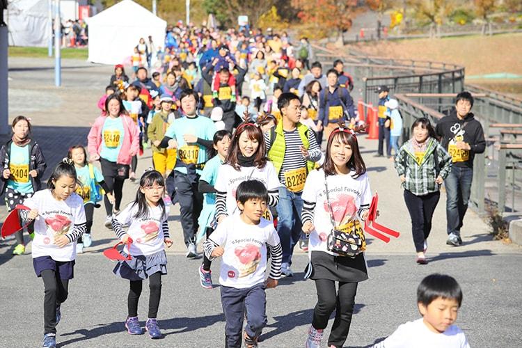 「くまファンラン×スイーツマラソンin大阪」画像