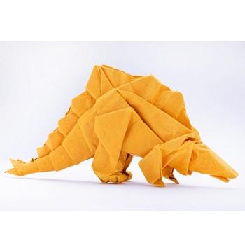 佐野美術館で「受贈記念 吉澤章 創作折り紙の世界」を開催、制作ワークショップも実施