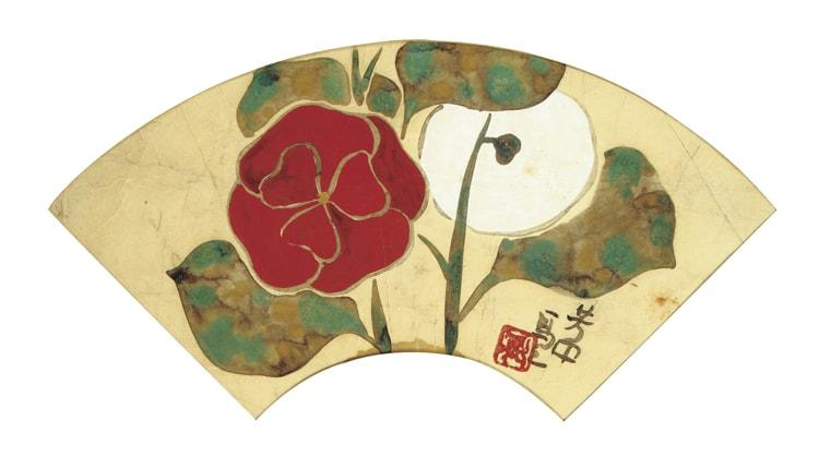 「石本藤雄展 マリメッコの花から陶の実へ-琳派との対話-」細見美術館