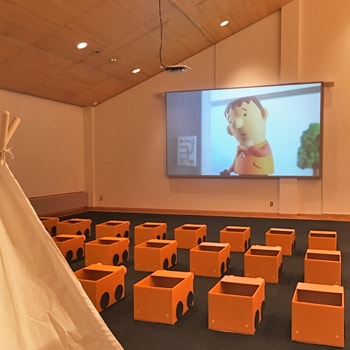 〈札幌芸術の森〉で「0さいからのげいじゅつのもり ドライブインシアター」を開催