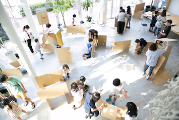 デザインを通して街とつながるワークショップ「コドモチョウナイカイ」が「金沢21世紀美術館」で4月3日(土)よりスタート!