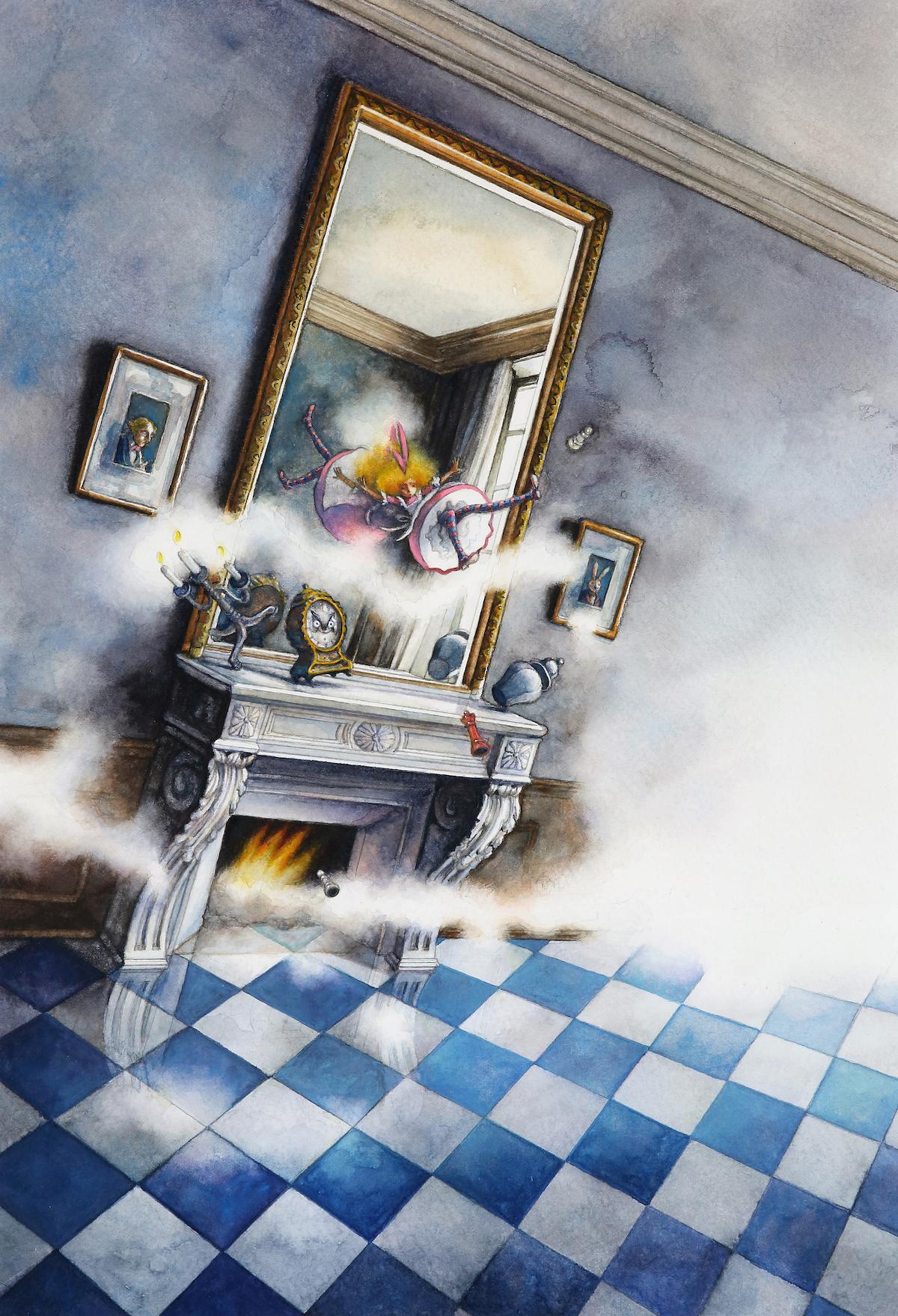 ひらいたかこ『鏡の向こう側へ』 ©2014 Takako Hirai