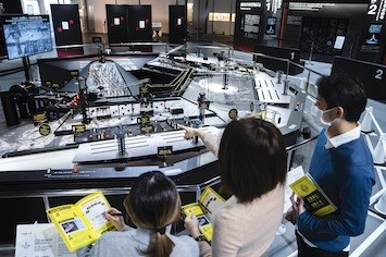 日本科学未来館で開催中のリアル脱出ゲーム。家族で防災への学びを深める機会に