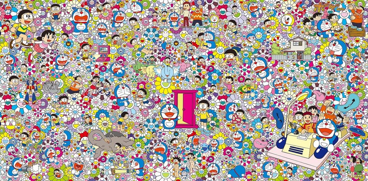村上隆 《あんなこといいな 出来たらいいな》 ©2017 Takashi Murakami/Kaikai Kiki Co., Ltd. All Rights Reserved. ©Fujiko-Pro