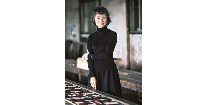 テキスタイルデザイナーの須藤玲子氏。