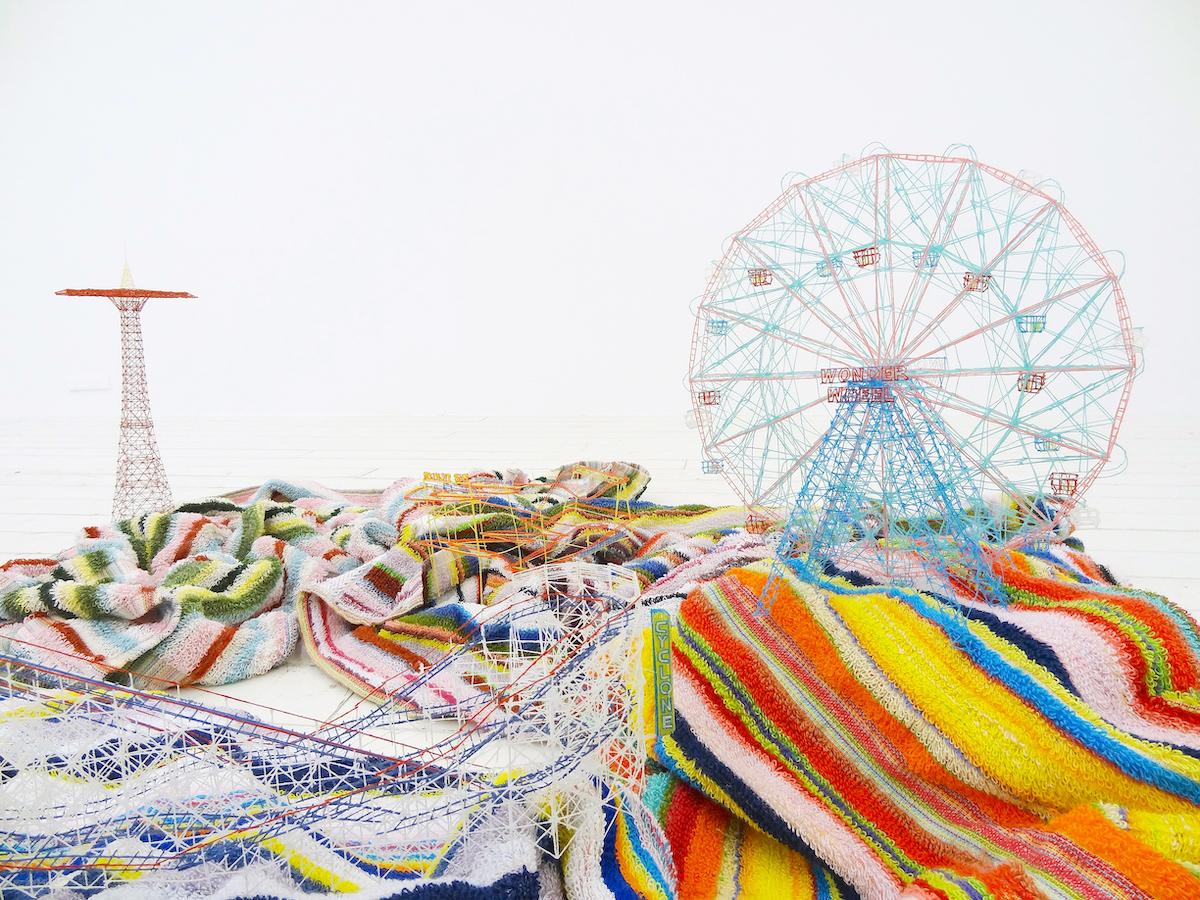 岩崎貴宏《アウト・オブ・ディスオーダー(コニーアイランド)》2012年 個人蔵 ©Takahiro Iwasaki, Courtesy of ANOMALY