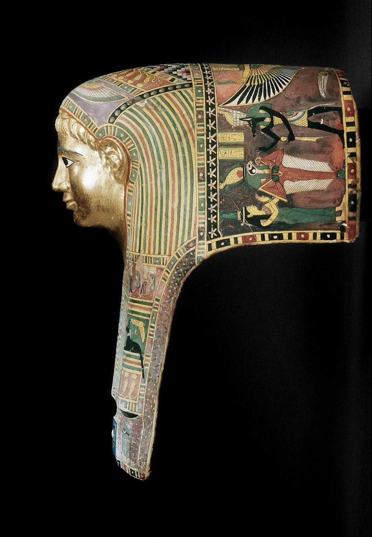 《パレメチュシグのミイラ・マスク》 後50~後100年頃 , © Staatliche Museen zu Berlin Ägyptisches Museum und Papyrussammlung / M. Büsing