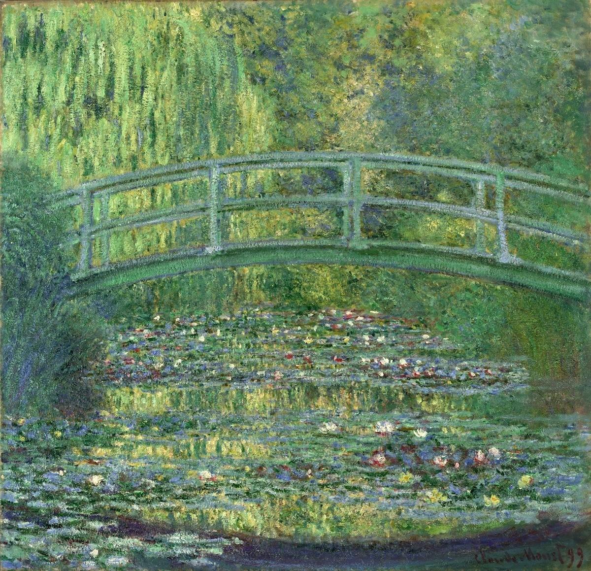 クロード・モネ 《睡蓮の池》 1899年 ポーラ美術館