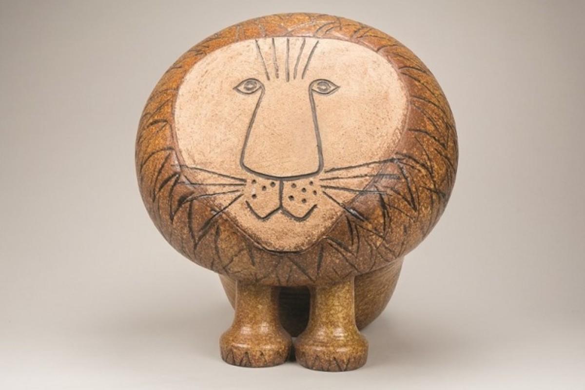 リサ・ラーソン 《ライオン(マキシ)/アフリカシリーズ》製造1968年-  ⒸLisa Larson/Alvaro Campo