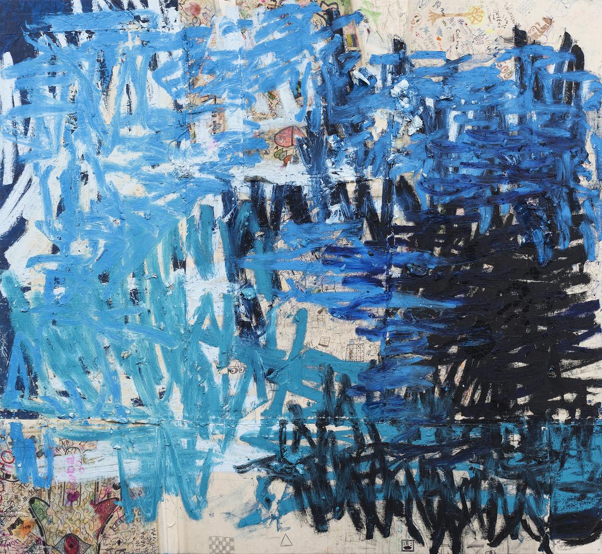 オスカー・ムリーリョ 《攪乱された周波(トルコ、コロンビア、ドイツ)》 2013-2019年 撮影:Tony Prikryl 画像提供:アスペン美術館