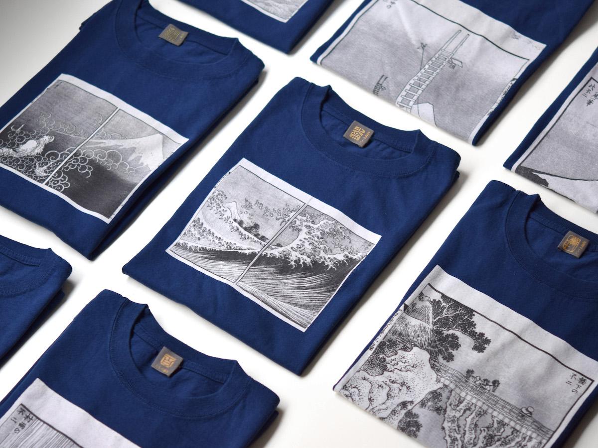 富嶽百景Tシャツ 4,900円(税込)