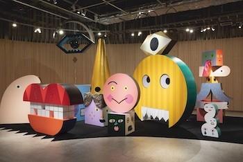 「tupera tupera のかおてん.」があべのハルカス美術館に登場! 人気絵本の世界観を親子で満喫