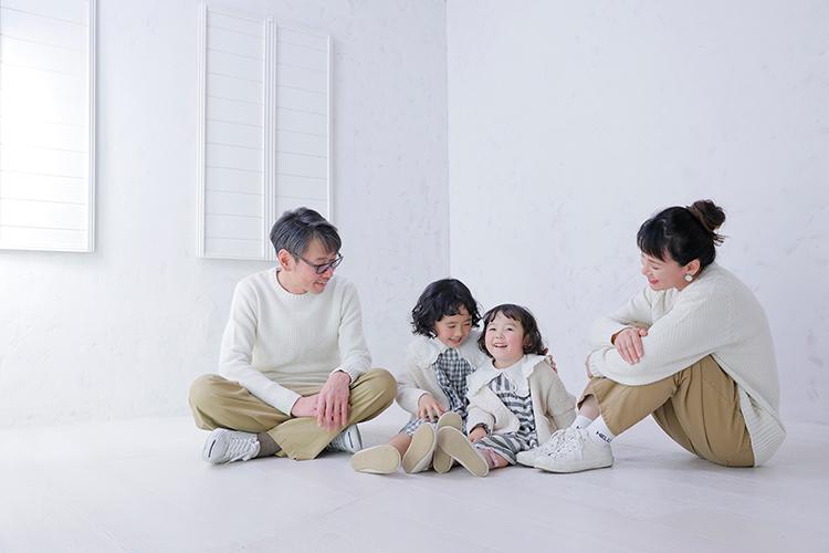 ハーツスタジオ 家族写真イメージ