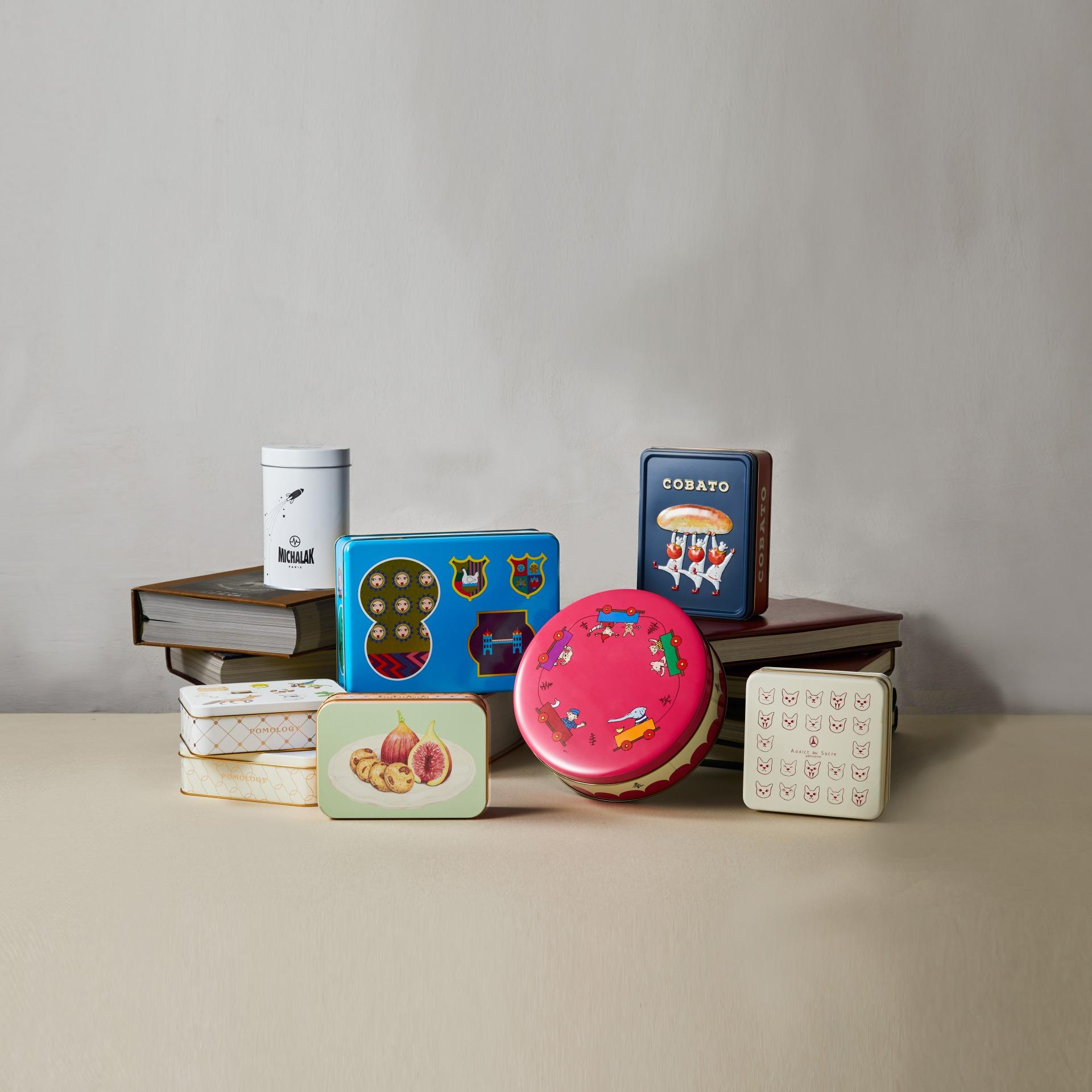 食べ終わったら何入れる? 宝物入れにしたくなる缶ボックスお菓子たち