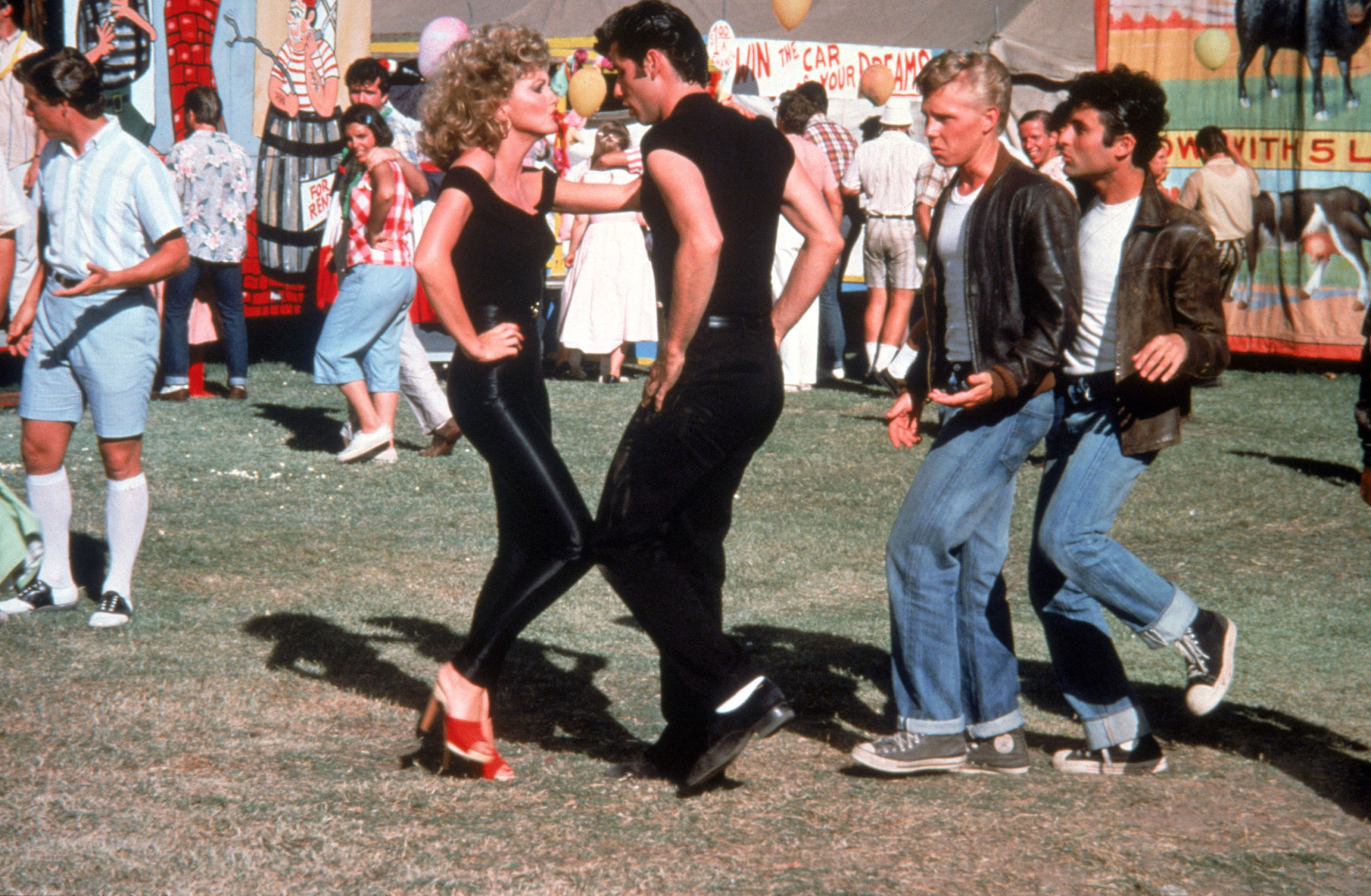 TM & Copyright (C) 1977,1998 by Paramount Pictures. All Rights Reserved.Grease is a trademark of Paramount Pictures. All Rights Reserved.TM, (R) & Copyright (C) 2013 by Paramount Pictures. All Rights Reserved.