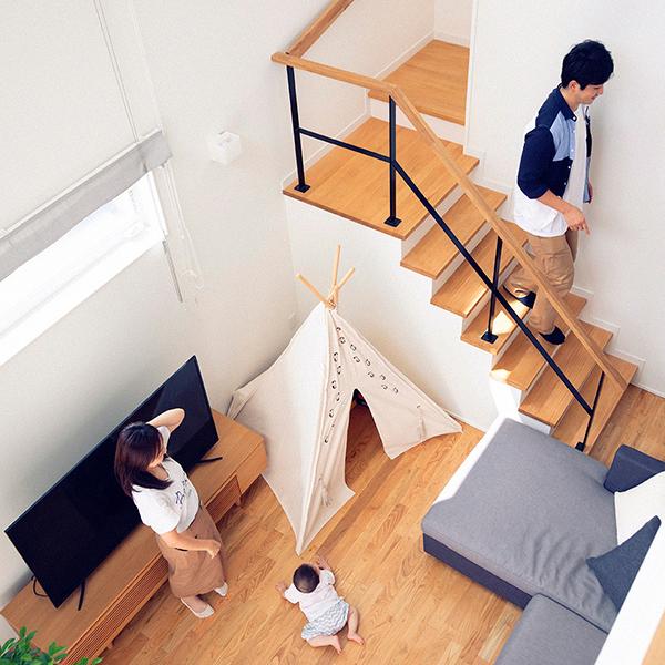 広い土地に建てた機能性に溢れる邸宅に暮らす、能登ファミリー。 HOUSE STORIES Vol.2