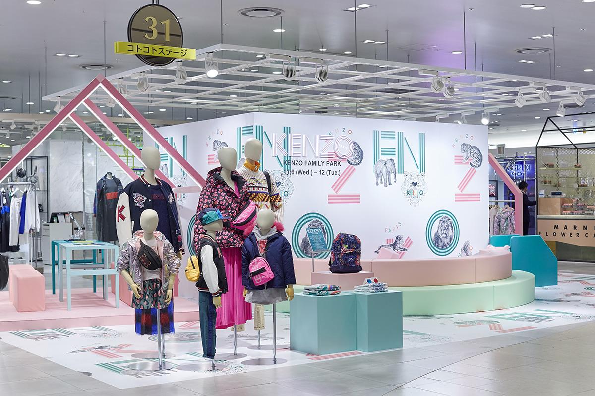 〈KENZO〉が〈阪急うめだ本店〉で開催した、世界初となるキッズの体験型ポップアップストアをレポート!