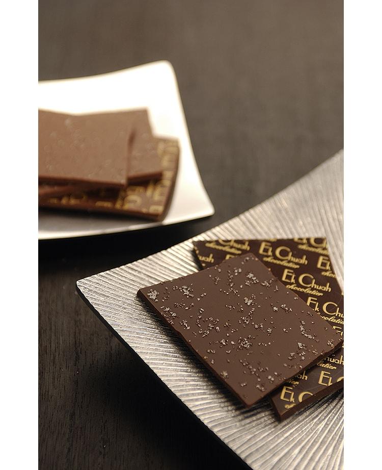 大阪のショコラティエ〈エクチュア〉の塩チョコレート