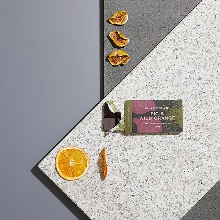 メルボルン発・本格ローチョコレート〈PANA CHOCOLATE〉Fig & Wild Orangeイメージ画像